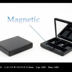 Makeup palette magnetic closure FT-PC1963