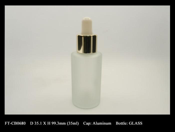 Dropper & glass bottle FT-CB0680