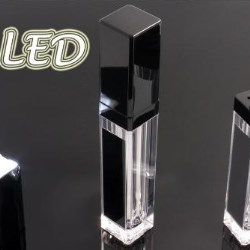 Cosmetic packaging LED