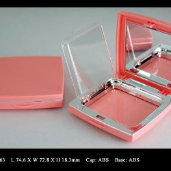 Face powder compact multi-layer FT-PC1663