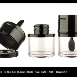 2-in-1 Cream Jar FT-CJ0232