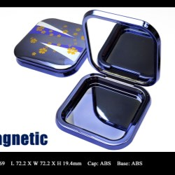 Makeup compact magnetic closure FT-PC2369