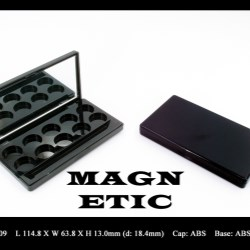 Makeup palette magnetic closure FT-PC1909