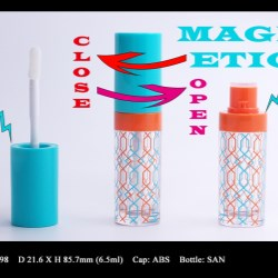Lip Gloss Bottle: FT-LG1598 (Magnetic closure)