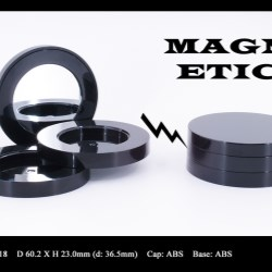 Makeup compact magnetic closure FT-PC2418