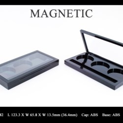 Makeup palette magnetic closure FT-PC2482