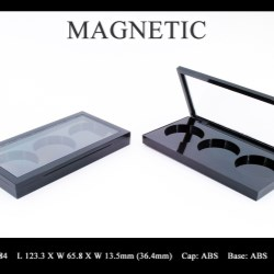 Makeup palette magnetic closure FT-PC2484