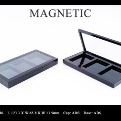 Makeup palette magnetic closure FT-PC2486