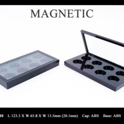 Makeup palette magnetic closure FT-PC2488
