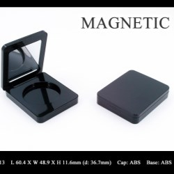Makeup compact magnetic closure FT-PC2513