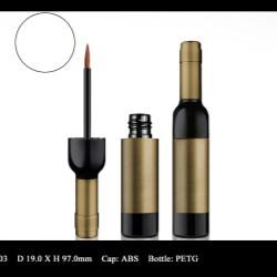 Liquid Eyeliner Packaging in Distinctive Shapes