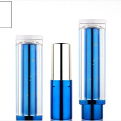 Lipstick packaging with clear closure