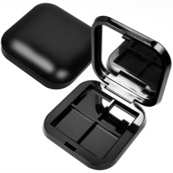 Square compacts with round corners