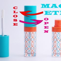 Leakage-Proof Lipgloss Packaging  with Magnetic Closure
