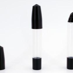 Squeezable lip gloss tube