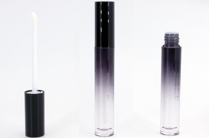 Ombré lip gloss bottle