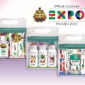 Giflors bicolor flip top closures topping Expo travel kits