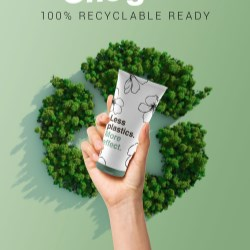 Giflors recycle-ready cap and tube solution