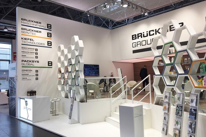 Brückner Group members at the Interpack 2017