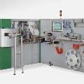 The compact machine for small cosmetic tube production