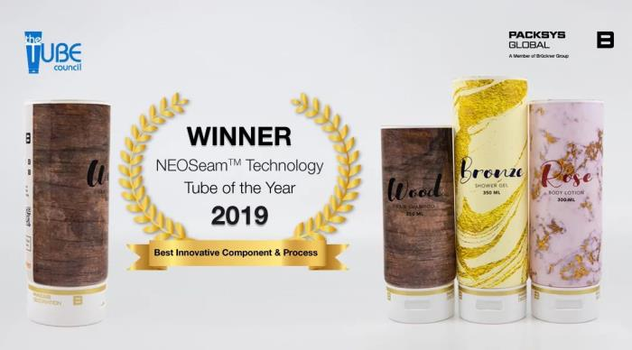Tube of the Year Award 2019 for PackSys Global