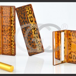 GCCs ornamental cosmetic components in tortoise shell style