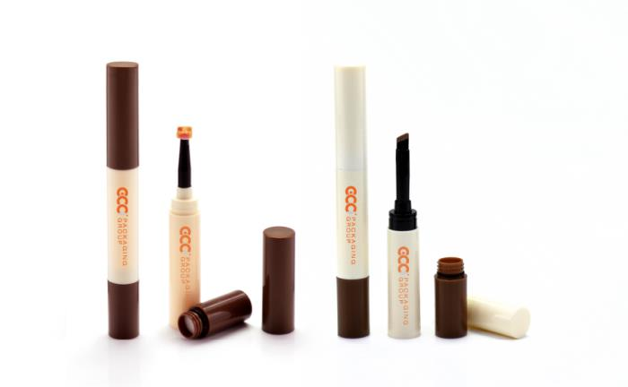 GCCs new double-ended cosmetic packaging for enhancing brows