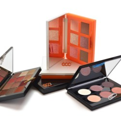 Cosmetic Palette with Magnetic Closure in Travel Size