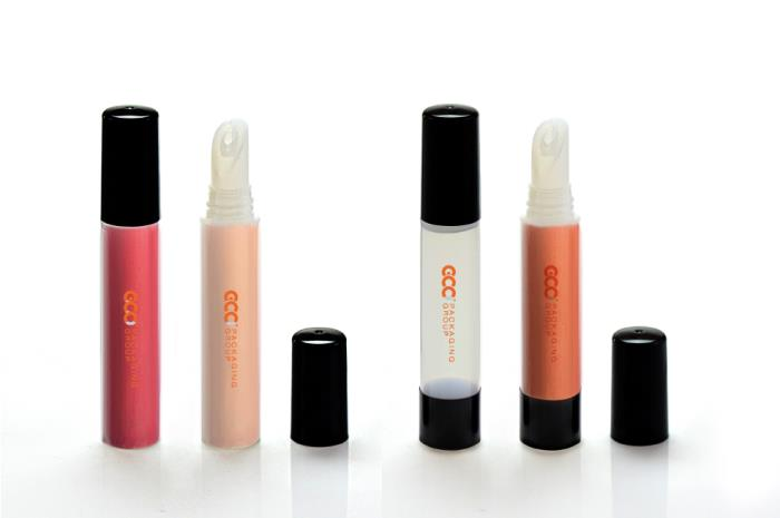 Stand-up Packaging Tube for Cosmetic Products