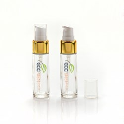 Sustainable: Lotion Pump & Glass Packaging