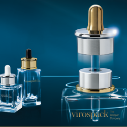 Virospack presents an innovative magnetic closure system for droppers with perfect sealing
