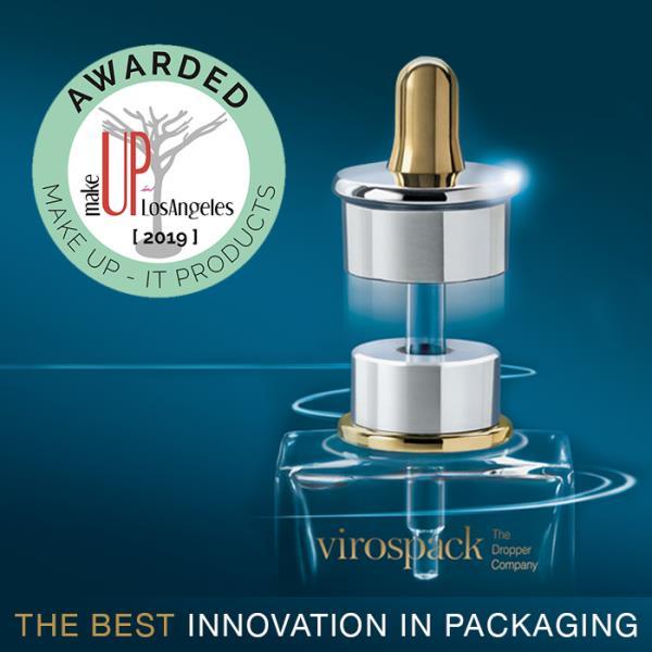 New award for Virospacks Magnetic Dropper: The best innovation in packaging 2019