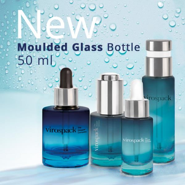 Virospack expands moulded glass bottle range with new, greater capacity 'last drop' format