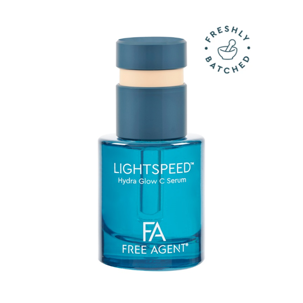 Virospacks innovative Ring Push Button Dropper pack chosen for LIGHTSPEED Hydra Glow C Serum