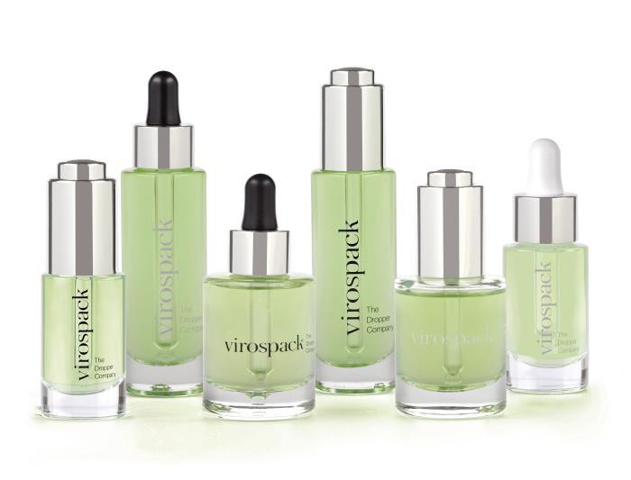 Virospack bottles