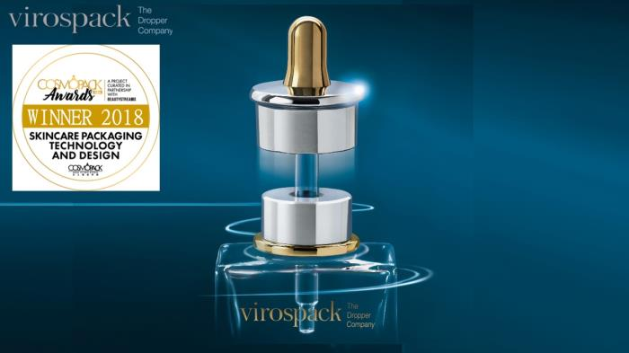 Virospack's award-winning magnetic dropper