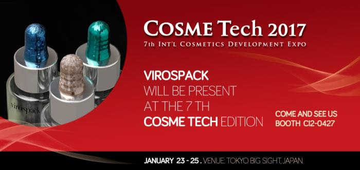 Virospack at Cosme Tech 2017