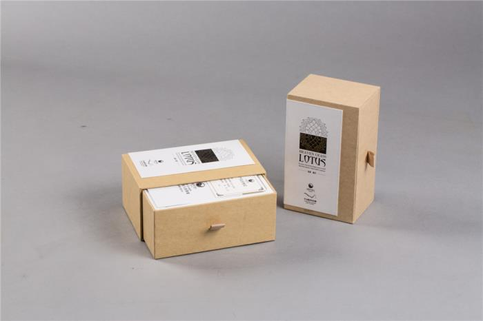 Card Rigid Box with booklet and label