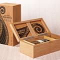 Luxury Vintage Highland Park Thor Whiskey Wooden Wine Box