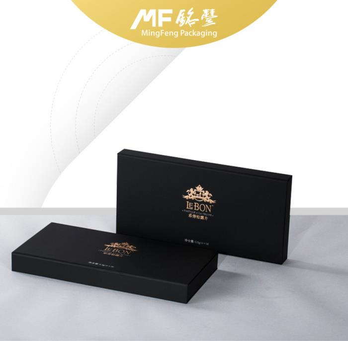 Black Classical Paper box for Healthcare products