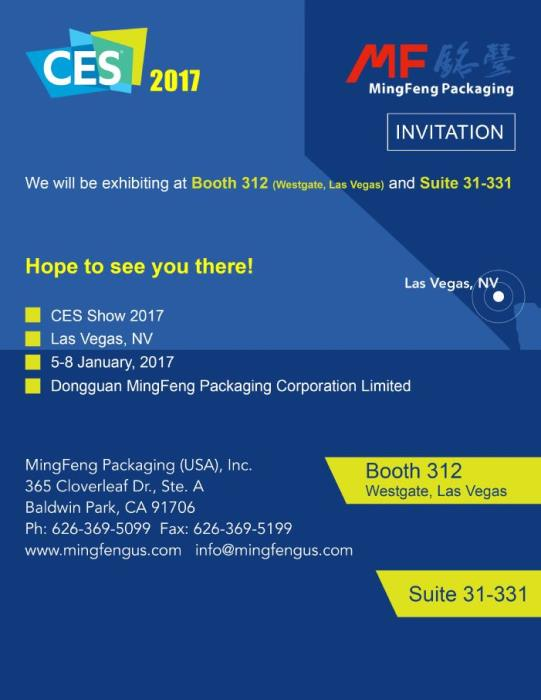 Get Ready For CES 2017!