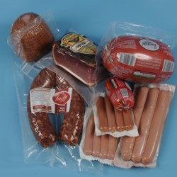 Material for the palletization - Flexible packaging for meat, sausages and cheese - Confectionery Industry - Frozen products