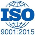 ISO 9001:2015 - The Most Up To Date Accreditation - Accept No Substitutes!