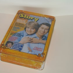 Vintage tins from The Box