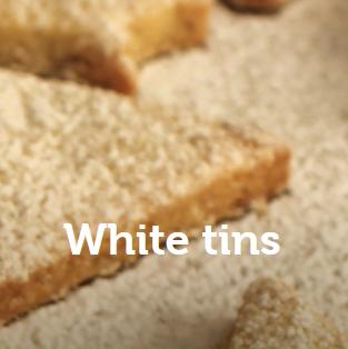 White tins