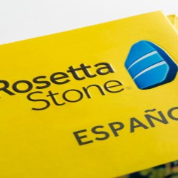 Stephen Gould's relationship with Rosetta Stone began with a basic challenge