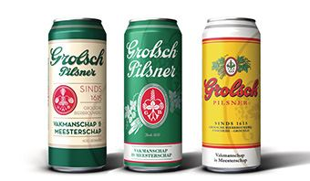Rexam produces celebratory can range to mark Grolsch's 400th anniversary