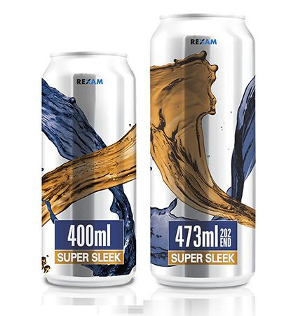 Rexam offers customers two new sleek can sizes
