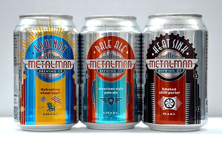 Rexam supports Metalman, local Irish craft brewer, to launch first ever craft beer in cans