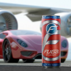 Fuga energy drink hits the market in Rexam s 12oz. Sleek can